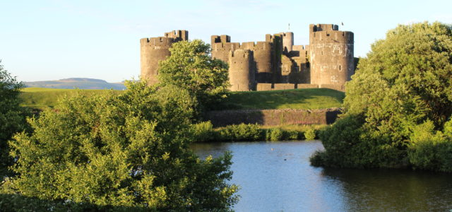 Caerphilly Castle 400m